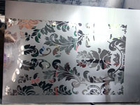 mirror etched finish stainless steel sheet