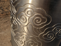 Photo etched Stainless Steel Pipe