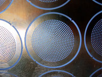 photo chemical etched brass mesh