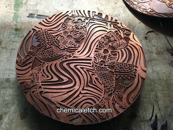 Deep Etching On Copper Deep Etching Deep Etching Copper